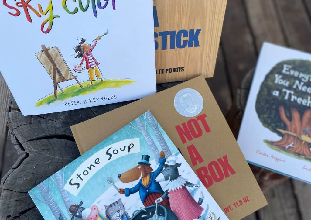 These books will spark imagination and play.