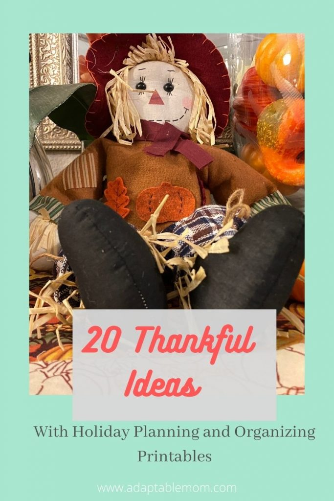 20 Thankful Ideas