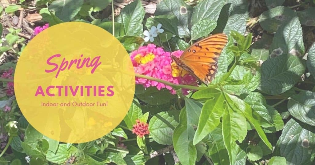 Indoor and Outdoor Spring Activities
